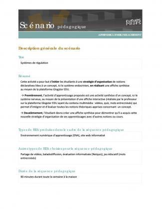 Document : Systèmes de régulation