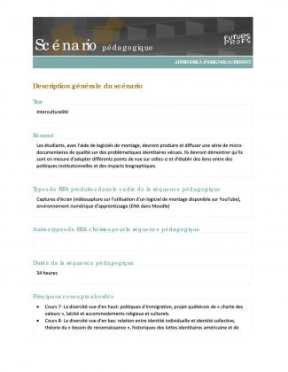 Document : Interculturalité