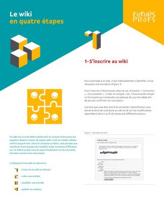 Document : Wiki en quatre étapes (Le)