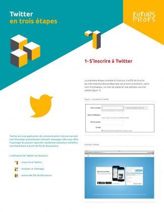 Document : Twitter en trois étapes