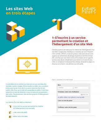 Sites Web en trois étapes (Les)