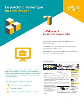 Document : Portfolio numérique en trois étapes (Le)