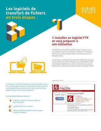 Document : Logiciels de transfert de fichiers en trois étapes (Les)