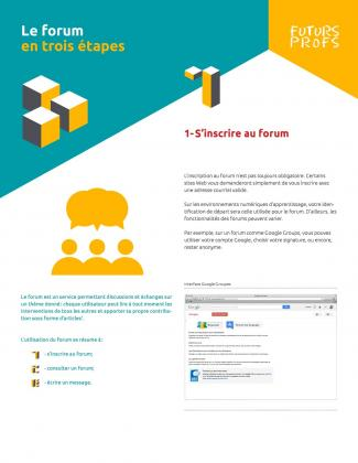 Document : Forum en trois étapes (Le)