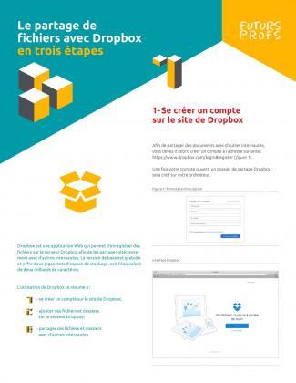 Document : Partage de fichiers avec Dropbox en trois étapes (Le)