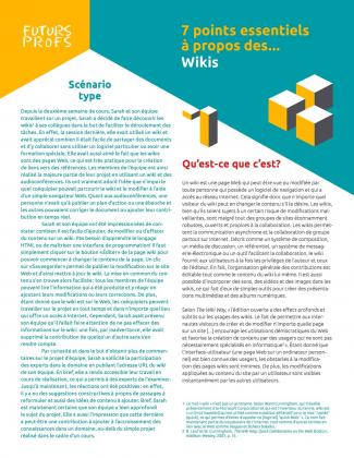 Document : Wikis - 7 points essentiels