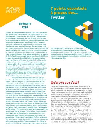 Document : Twitter - 7 points essentiels