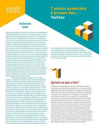 Document : Twitter - 7 points essentiels