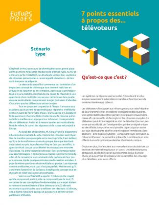Document : Télévoteurs - 7 points essentiels