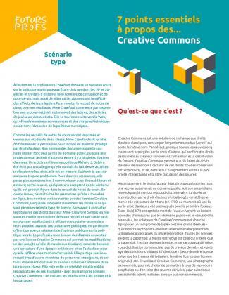 Document : Creative Commons - 7 points essentiels