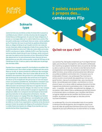 Caméscopes Flips - 7 points essentiels