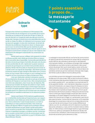 Document : Messagerie instantanée - 7 points essentiels