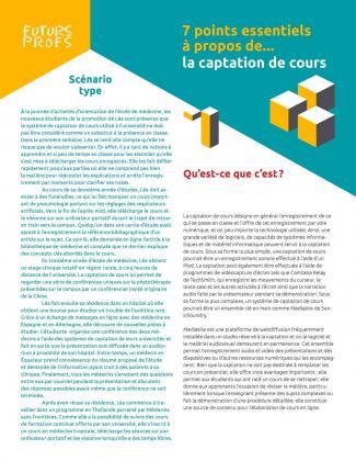 Document : Captation de cours - 7 points essentiels
