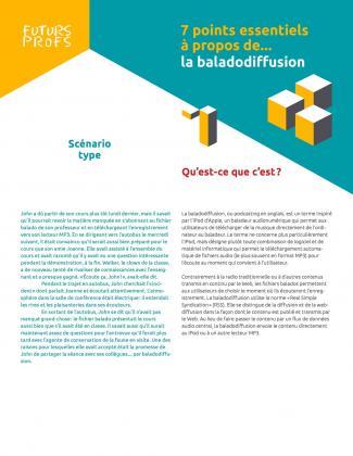 Document : Baladodiffusion - 7 points essentiels