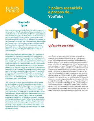 Document : YouTube - 7 points essentiels