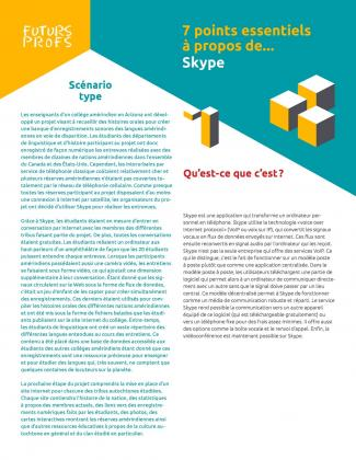 Document : Skype - 7 points essentiels