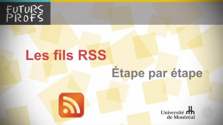 Vidéo : Fils RSS, étape par étape (Les)